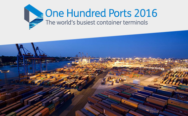 Top 100 Container Ports 2016 Lloyd's List