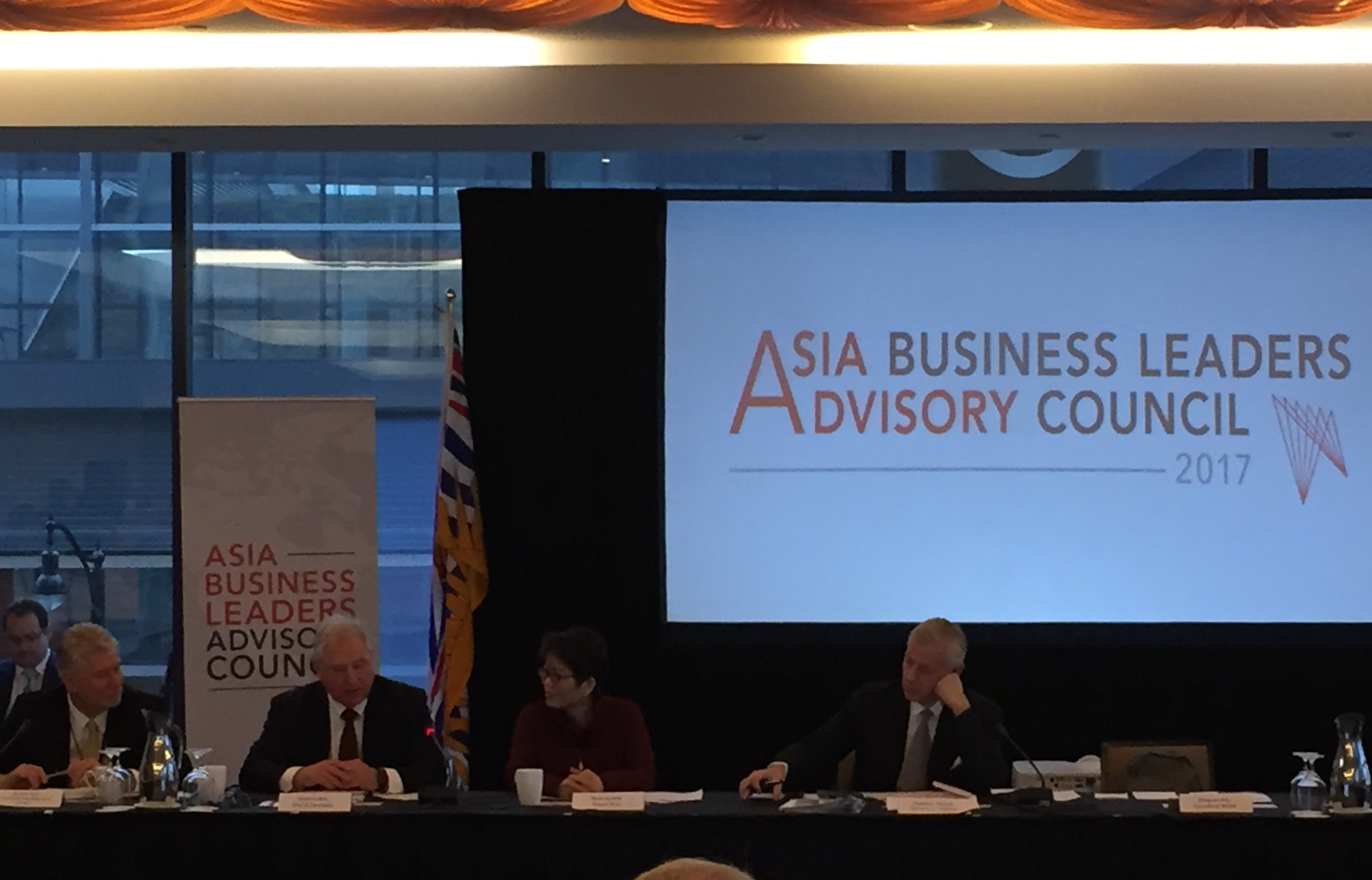 Asia Business Leaders Advisory Council 2017 Vancouver March 2017