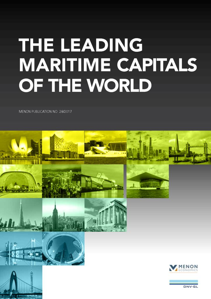 Menon Report 2017 Recognizes Vancouver for the First Time as an Attractive Global Maritime Hub.