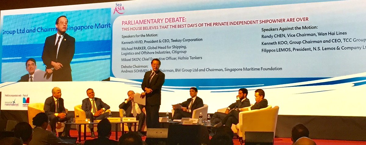 VIMC at Sea Asia 2017 opening ceremony in Singapore