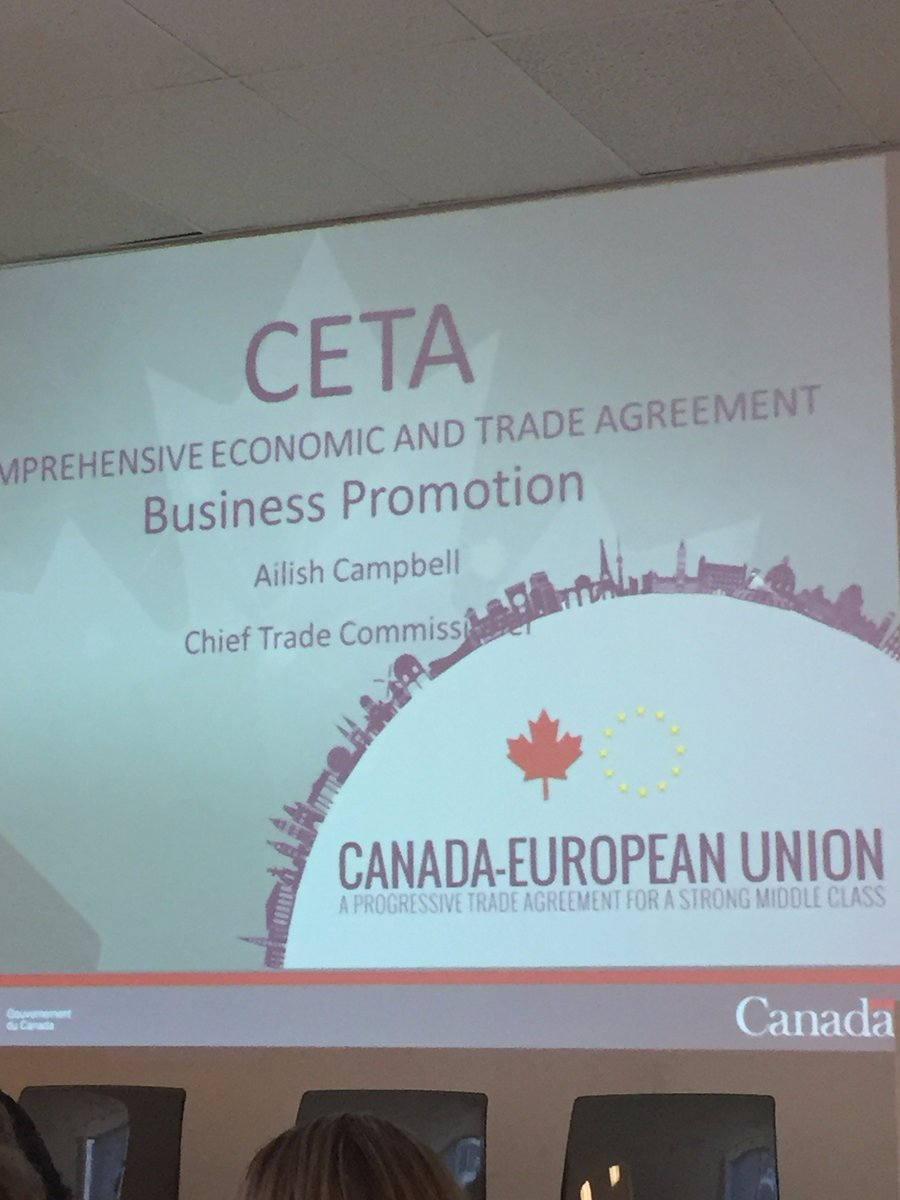 Europe Day 2017 CETA Seminar Vancouver May 2017