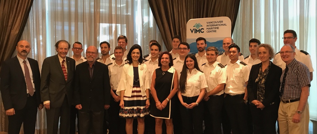 World Maritime Day 2017 Celebration in Vancouver and Menon Economics Vancouver City Report 2017 Release