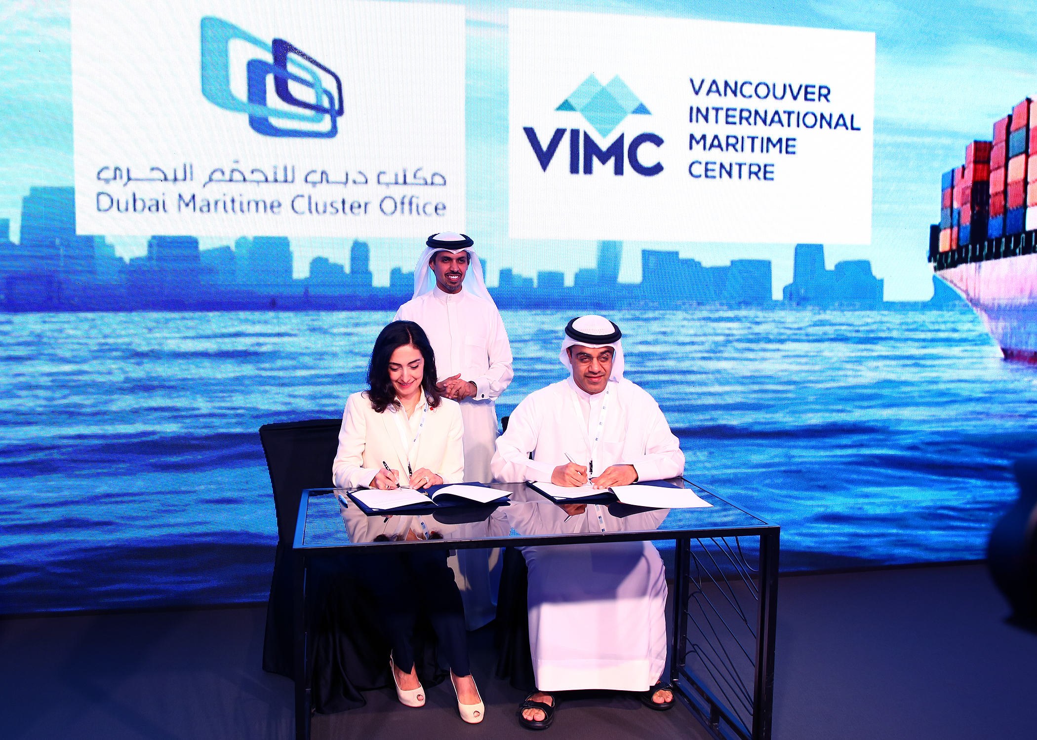 Dubai Maritime Agenda 2017, Canada and Dubai sign MOU, Dubai October 2017