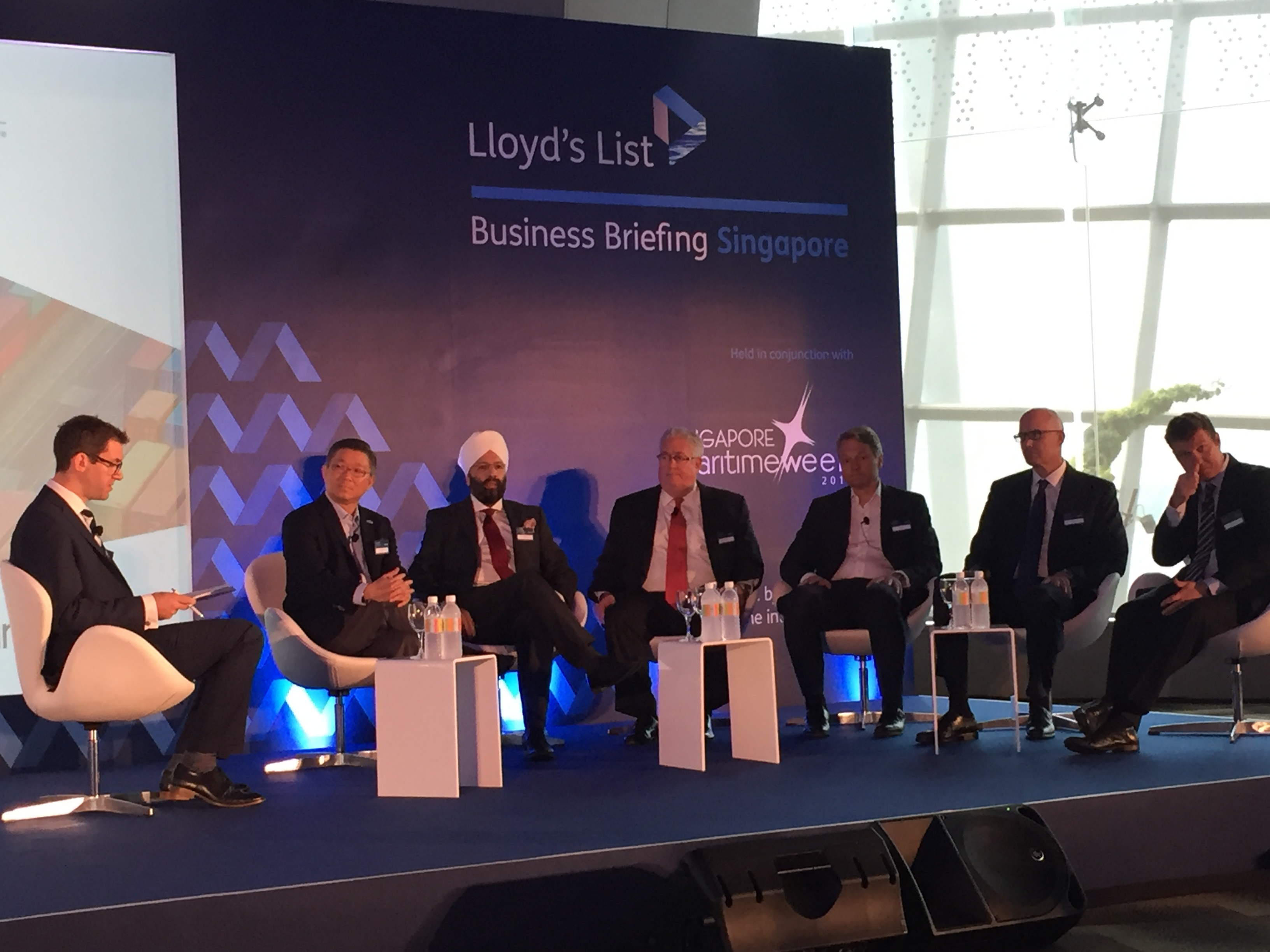 Lloyd's List Business Briefing 2017 Singapore April 2017