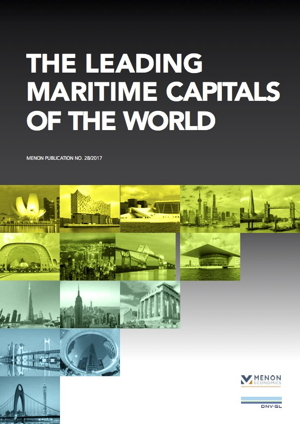 The Leading Maritime Capitals of the World Report Launch Singapore April 2017