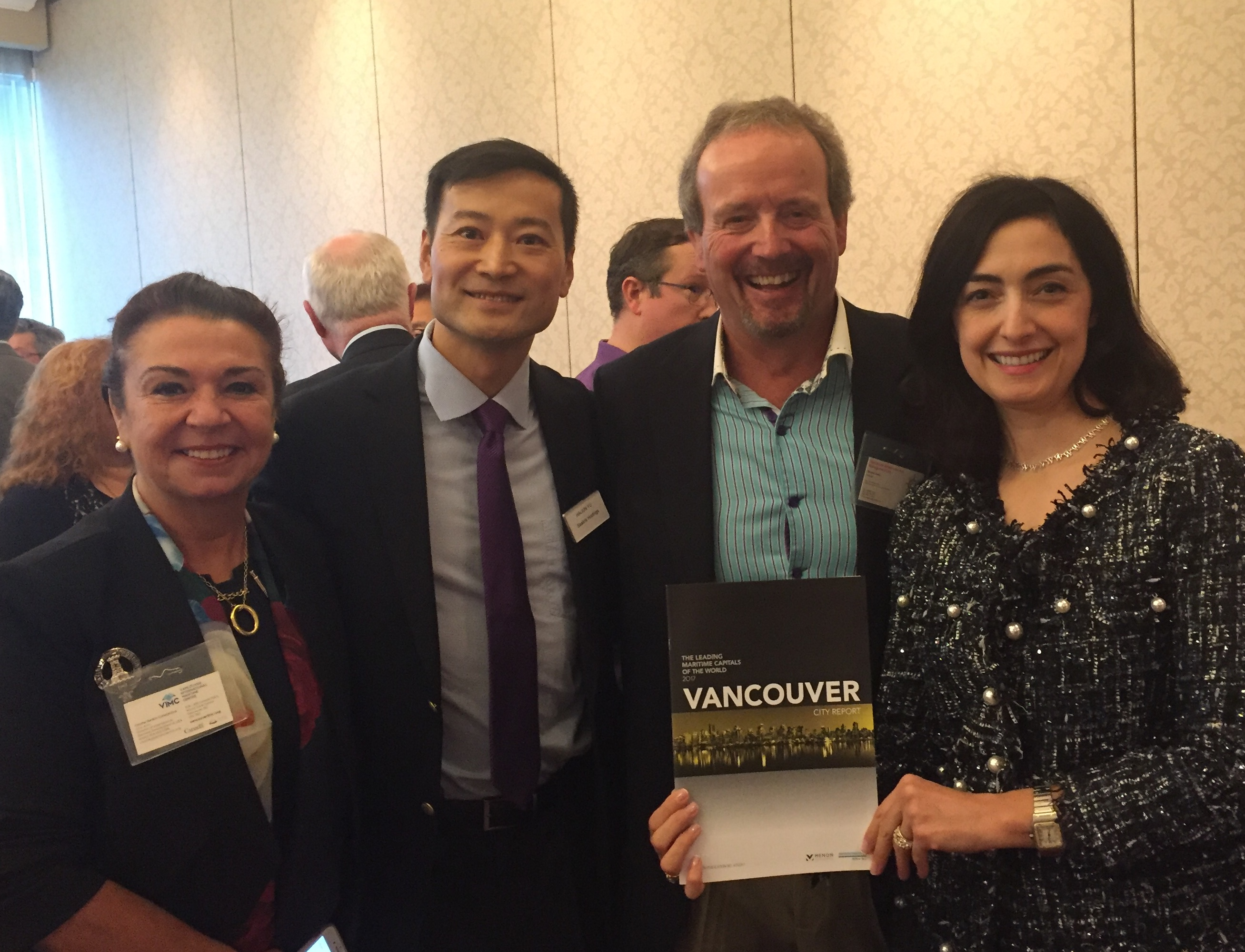 First Vancouver's Shipping Industry Luncheon, Vancouver October 2017